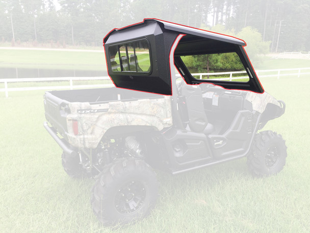 All Steel Complete Cab Enclosure System No Doors Yamaha 2014-2019 Viking 700