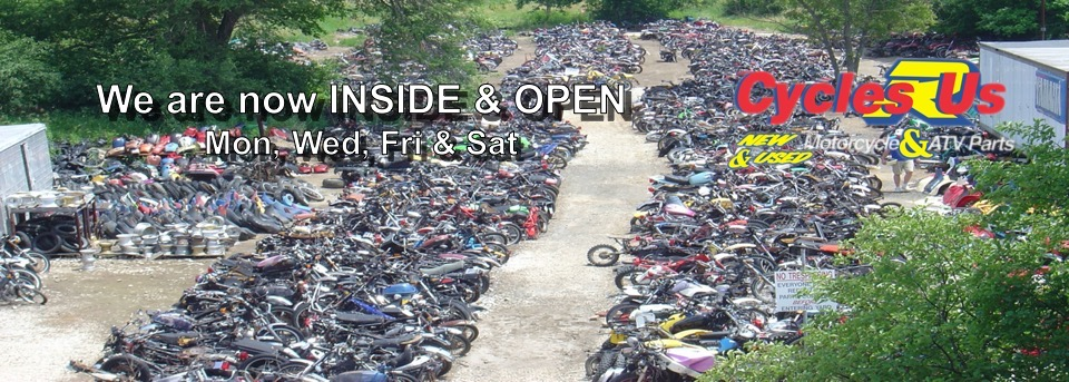 Used Motorcycle Parts Salvage Yard