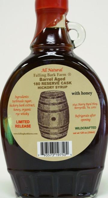 organic rye whiskey hickory syrup