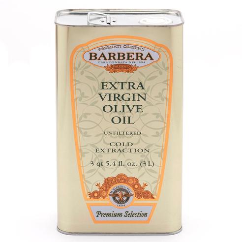 Extra Virgin Olive Oil, Olio Extravergine Di Oliva, Barbera, Sicily, 101 oz (3l)
