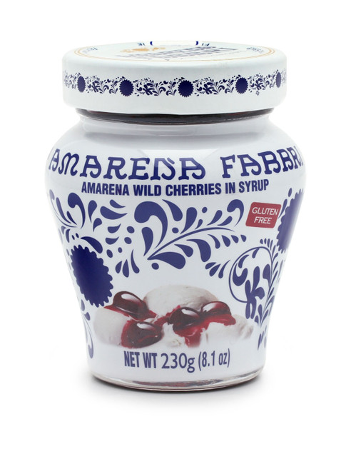 Amarena Wild Cherries In Syrup Jar  Fabbri