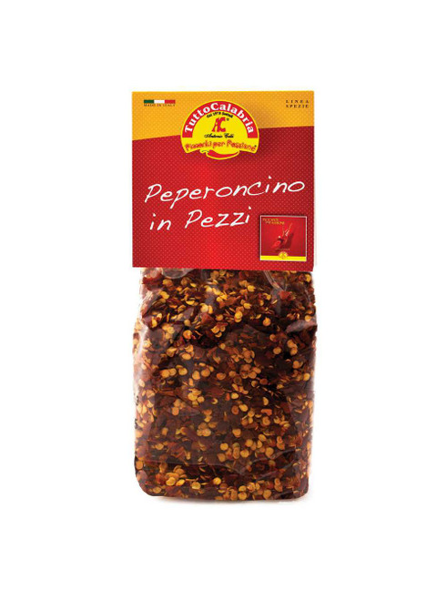 Chili Dried Hot Peppers Bag, TuttoCalabria, Italy,  2.1Oz