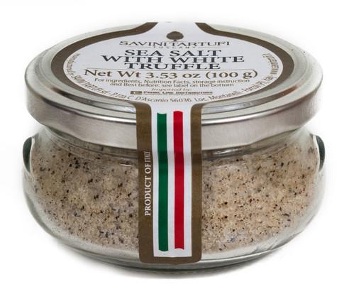 White Truffle Salt, Savini, Italy,  3.52 oz (100gr)