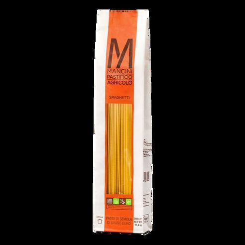 Pasta SpaghettI,  Mancini,  Le Marche-Italy, 1.1 lb (500 g)