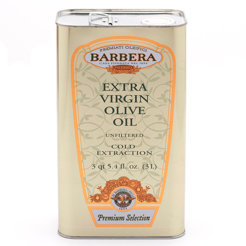 Extra Virgin Olive Oil, Olio Extravergine Di Oliva, Barbera, Sicily, 33.8 oz (3l)