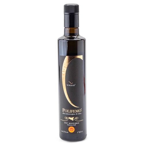 Extra Virgin Olive Oil, Olio Extravergine Di Oliva, DOP, Polifemo, Sicily, 16.9 oz (0.5 l)