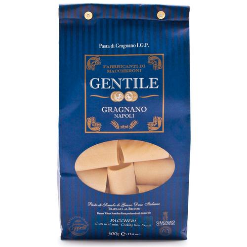 Pasta Paccheri, Gentile, Gragnano-Napoli, 1.1 lb (500 g)