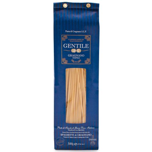 Pasta Spaghetti (8 min), Gentile, Gragnano-Napoli, 1.1 lb (500 g)