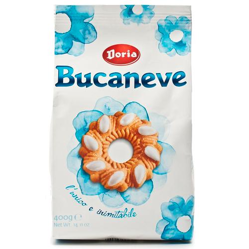 Bucaneve Italian Biscuit, Biscottini, Doria, 14.1 oz (500 g)