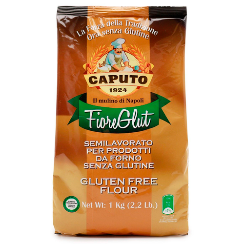 Gluten Free Flour, Farina Senza Glutine, Caputo, Napoli, 2.2 lb (1 kg)