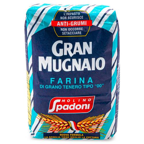 Wheat Flour, Farina 00, Gran Mugnaio Molino Spadoni, Ravenna, 2.2 lb (1 kg)