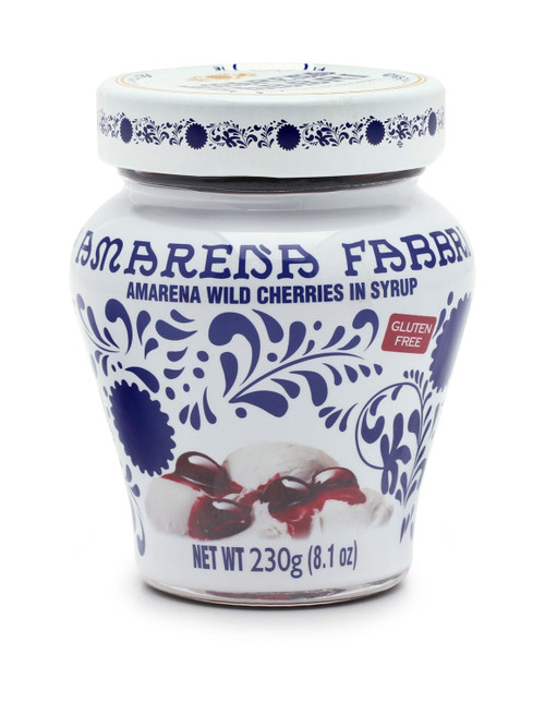 Amarena Wild Cherries In Syrup Jar  Fabbri