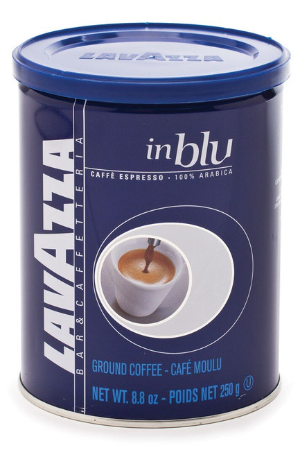 Espresso Coffee, Ground 100% Arabica Blue Can Lavazza