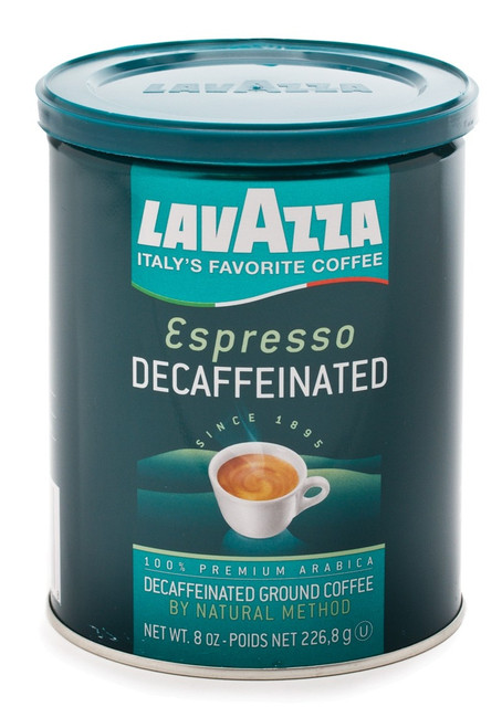 Decaf Espresso Coffee Ground, 100% Premium ArabicaGreen Can Lavazza