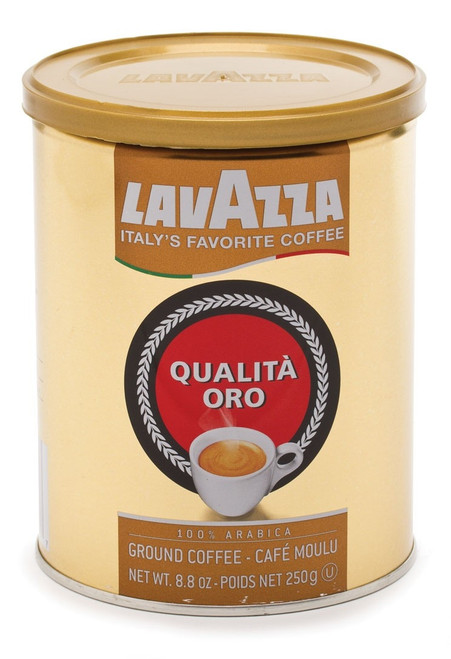Espresso Coffee Ground 100% Arabica Oro Can Lavazza