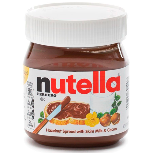 Nutella Hazelnut Spread, Jar, Ferrero, Italy, 13 oz (368.55 g)
