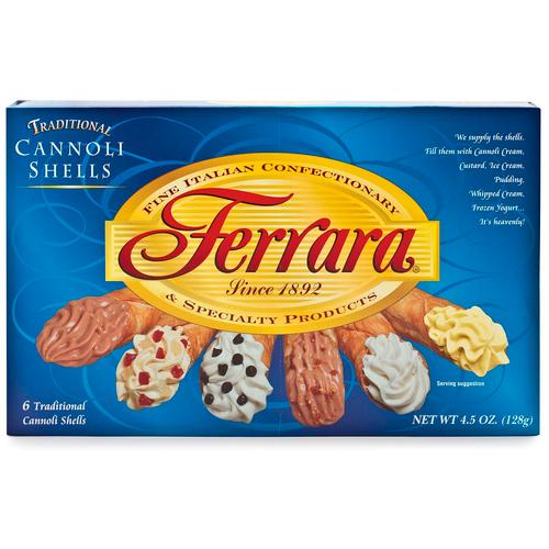 Cannoli Shells, Ferrara, Italy, 6 Units, 4.5 oz (128 g)