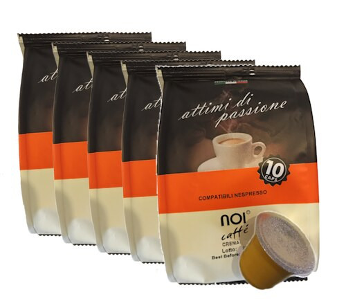 Noi Espresso Coffee Capsules Crema (100 shots)