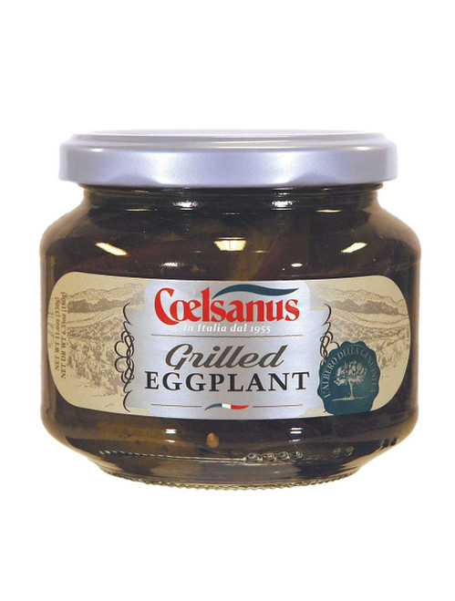 Grilled Eggplants in Oil, Coelsanus,  Italy (12 oz)