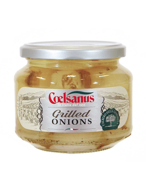 Grilled Onion in Oil, Coelsanus, Italy, 12 oz