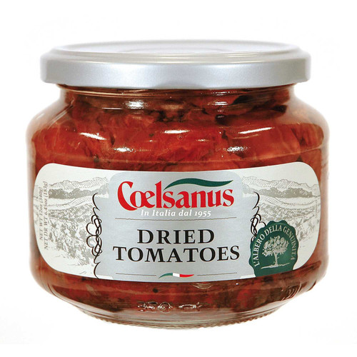 Grilled Sundried Tomatoes in oil, Coelsanus,  Italy (12 oz)