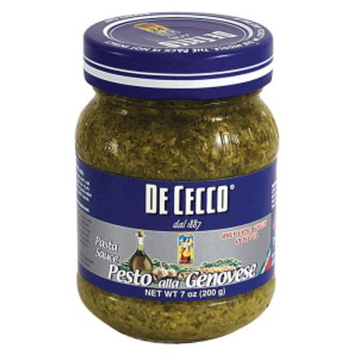 Pesto Sauce, De Cecco, Italy (7 oz)