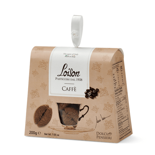 Biscotti Coffee  Loison, Italy, 7.05OZ