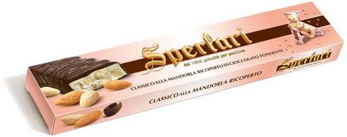 Torrone with Almonds and Chocolate, Sperlari, Italy, 8.81oz