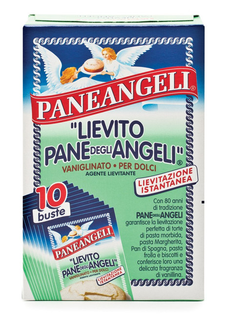 Baking Soda, Vanilla, Lievito Vanigliato,  PaneAngeli, Italy, 10x16gr