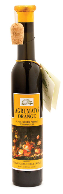Orange Infused Extra Virgin Olive  Oil, Agrumato, Italy,  6.76 oz.