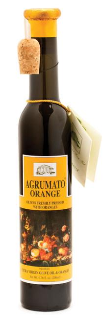 Orange Infused Extra Virgin Olive  Oil, Agrumato, Italy,  6.76 oz.