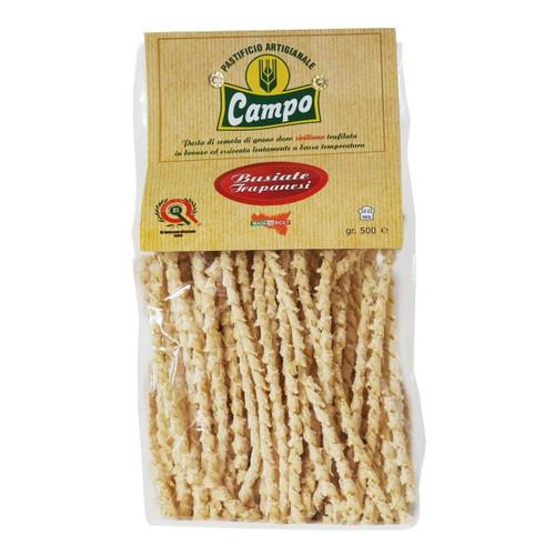 Pasta Busiate Trapanesi, Campo,  1.1 lbs (500 gr)