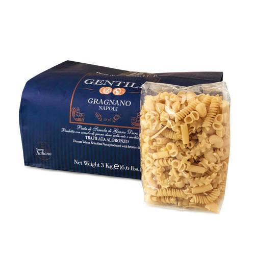 Pasta Mista Corta, Gentile, Gragnano- Napoli, 6.6 lbs (3Kgr)