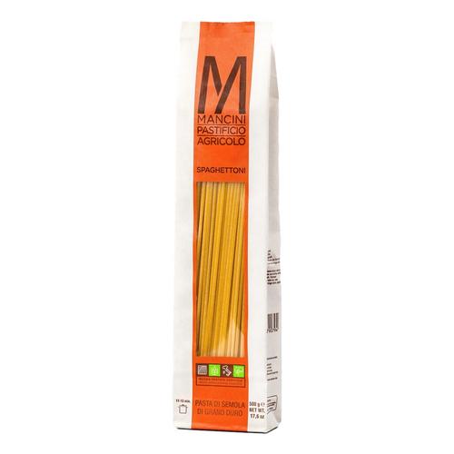 Pasta Spaghettone,  Mancini,  Le Marche-Italy, 1.1 lb (500 g)