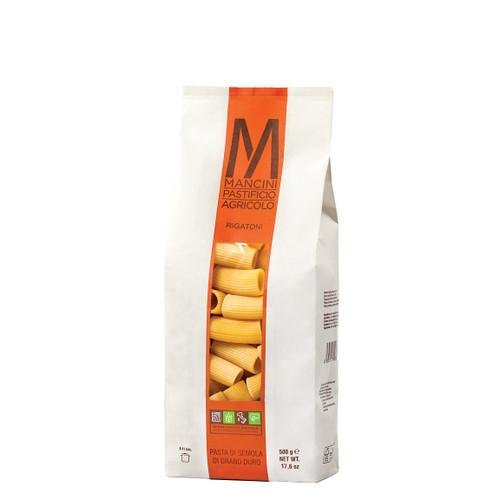 Pasta Rigatoni,  Mancini,  Le Marche-Italy, 1.1 lb (500 g)