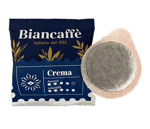 Espresso Coffee Pods (Cialda) Crema, Napoli, Italy, Biancaffe, (50 pods)