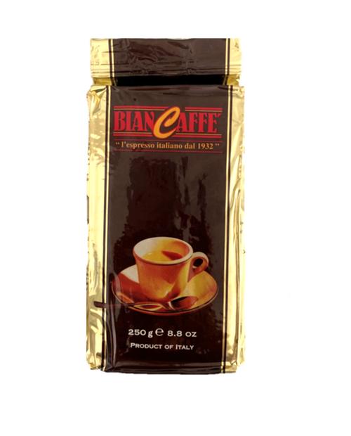 Espresso Coffee, Ground, Classica, Biancaffe Italy, 8.8 oz  (250g)