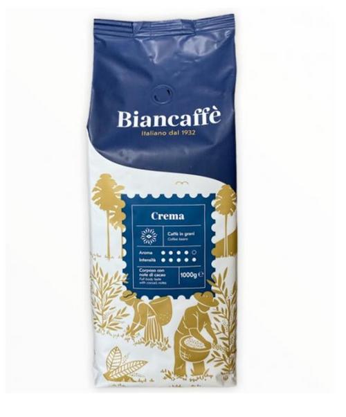Espresso Coffee Bean,  Crema, Napoli, Italy, Biancaffe (2.2lbs)