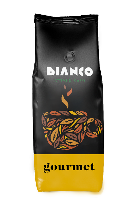 Espresso Coffee Bean,  Crema, Napoli, Italy, Bianco Attimi di Caffe, 1.1 lb (500g)