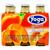 Apricot Nectar, Yoga, Italy, 6 Bottles x 4.2 fl oz each (125 ml each)