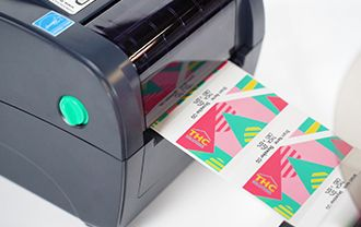 Compact THC Label printer Professional Look