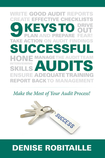 9 Keys to Successful Audits Book