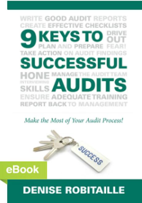 9 Keys to Successful Audits eBook