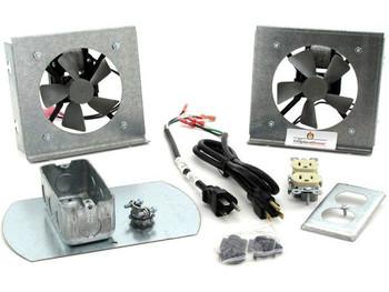 FK18 Fireplace Fan Kit for Heat & Glo Fireplaces