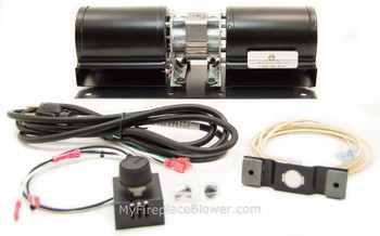 Wood Stove Blower Fan Gas Stove Blower Kit