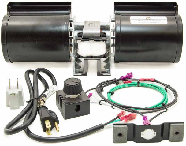 GFK-160 Fireplace Blower Fan Kit for Quadra Fire EXPRESSION 36 - QV36A-FB fireplaces