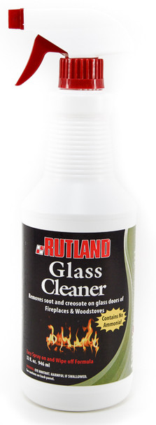 Fireplace Glass Cleaner by Rutland