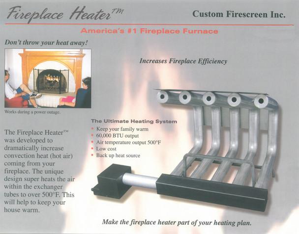 Fireplace Blower Heater