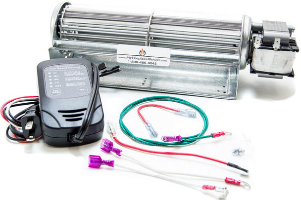 GFK4B Fireplace Blower Kit for Heatilator NDV4236, NDV4236I Fireplace Insert
