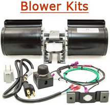 Fireplace Blower Kit